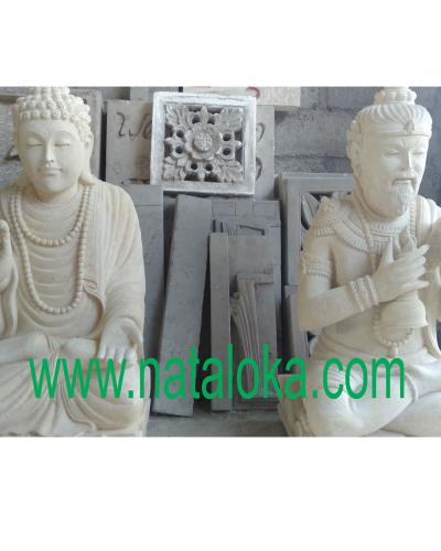 Jual Patung Buddha Dari Batu Alam di Bali