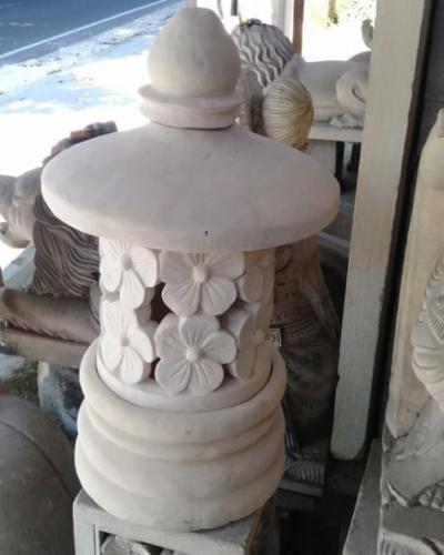 Lampu Taman Batu Alam Bali