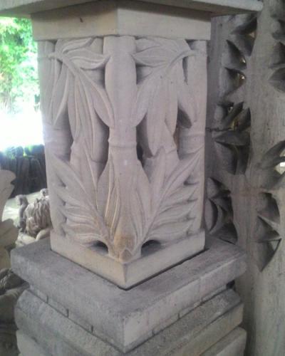 Lampu Taman Motif Babu