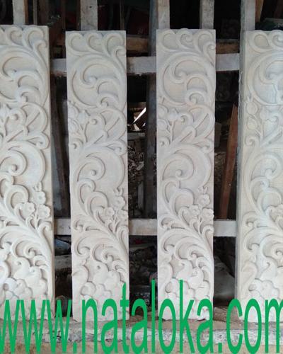 Relief Taman Minimalis Motif Ukiran Bali