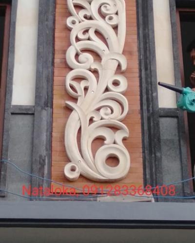 Relief Ukiran Dinding Minimalis