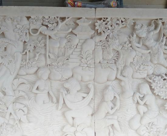 Harga Relief Dinding Rumah Motif Rajapala