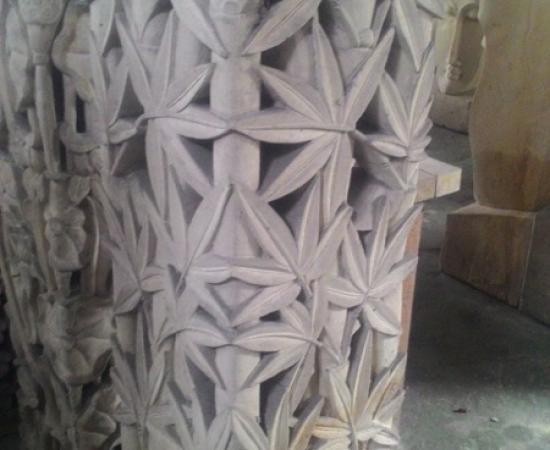 Hiasan Rumah motif Gorong Bambu