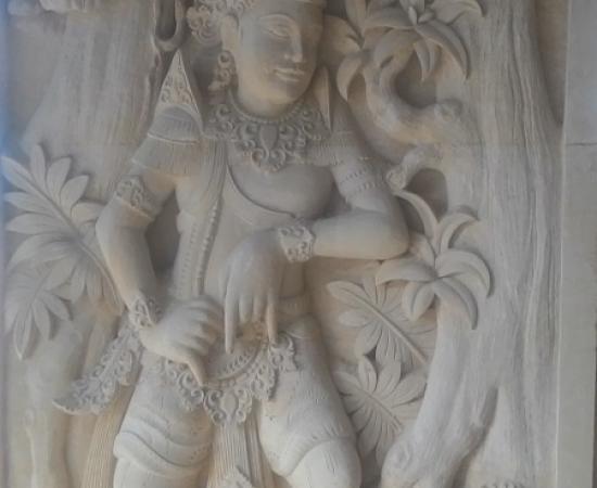 Dekorasi Relief Rumah motif Rama