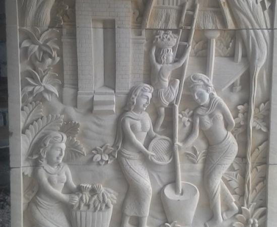 Relief Tradisi Bali