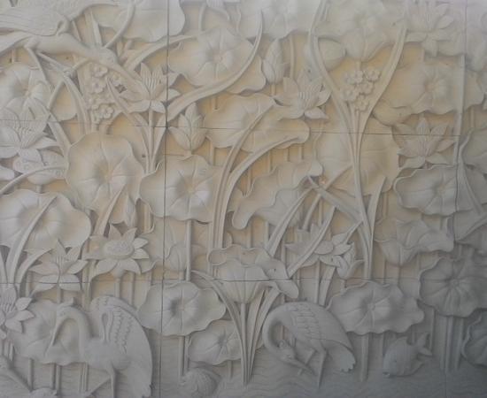 Dekorasi Rumah Motif Lotus