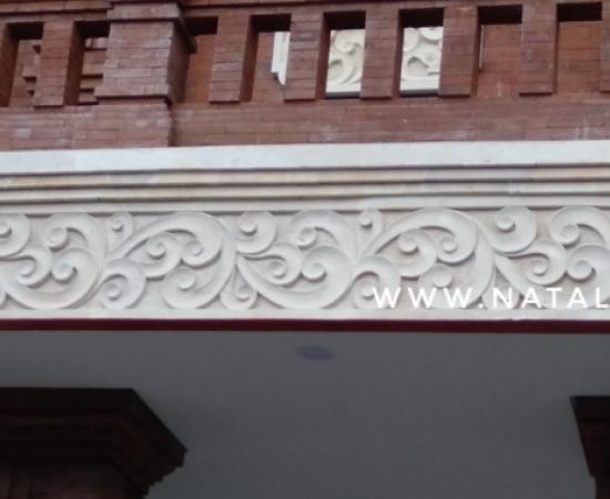 Dekorasi Relief Dinding Rumah Motif Tribal
