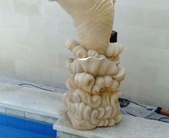 Jual Patung Air Mancur Bali Untuk Kolam Ikan/Renang