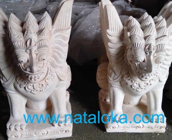 Jual Patung Garuda Bali Bahan Batu Paras Jogja