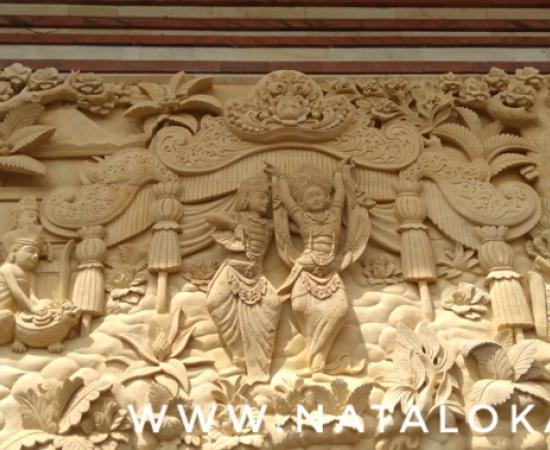 Jual Relief Dinding Bali Motif Tari Oleg Tamulilingan 3 Dimensi