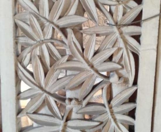Jual Relief Dinding Ukiran Bali Motif Daun