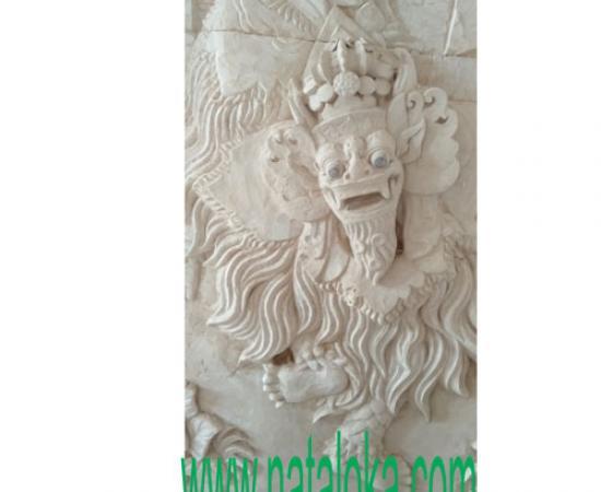 Jual Relief Ukiran Dinding Motif Barong Bali
