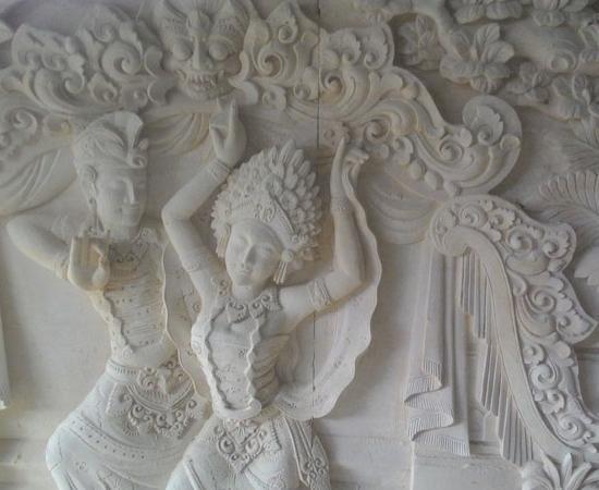 Relief penari bali