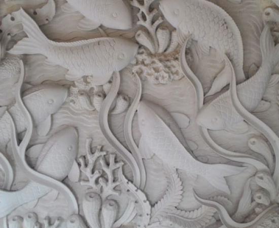 Relief terumbu karang