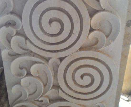 Ukiran relief modern