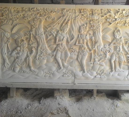 Relief Ramayana paras jogja.