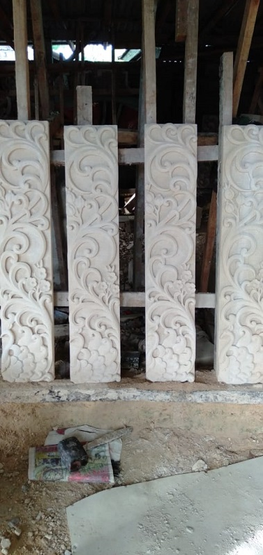 Dekorasi Relief Dinding Rumah Minimalis