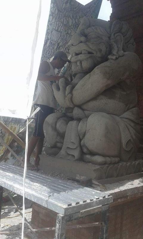 Hiasan rumah motif patung Medah,malen