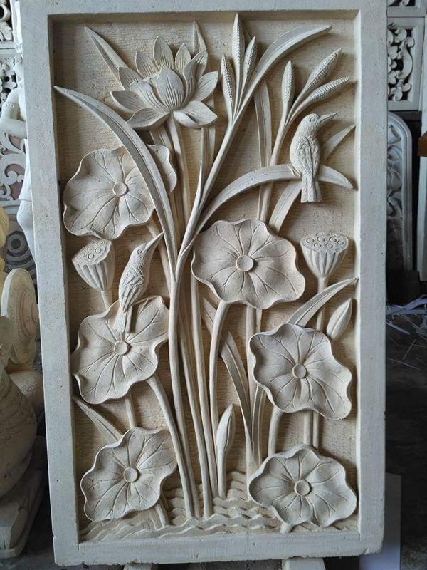 Hiasan Dekorasi Rumah motif Lotus