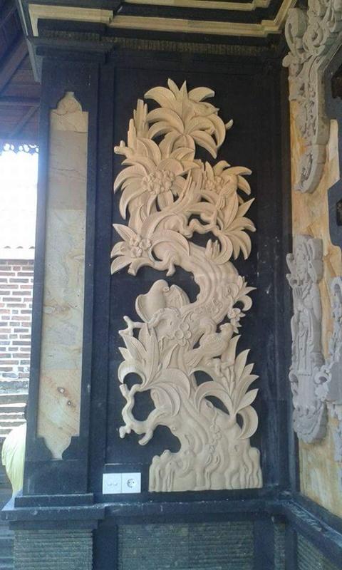 Hiadan Dekorasi Rumah mewah moti Pohon Kamboja