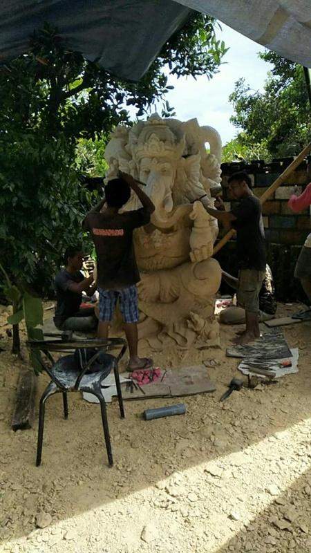 Dekorasi Rumah motif patung