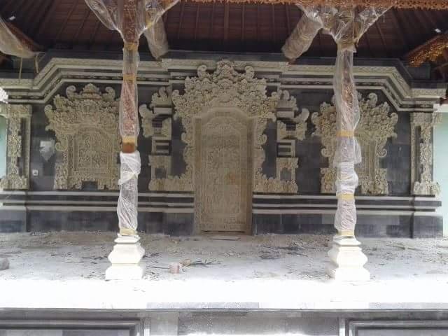 Dekorasi Relief Rumah Bali
