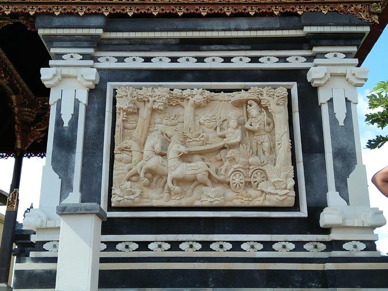 Dekorasi Rumah mewah motif Mahabarata