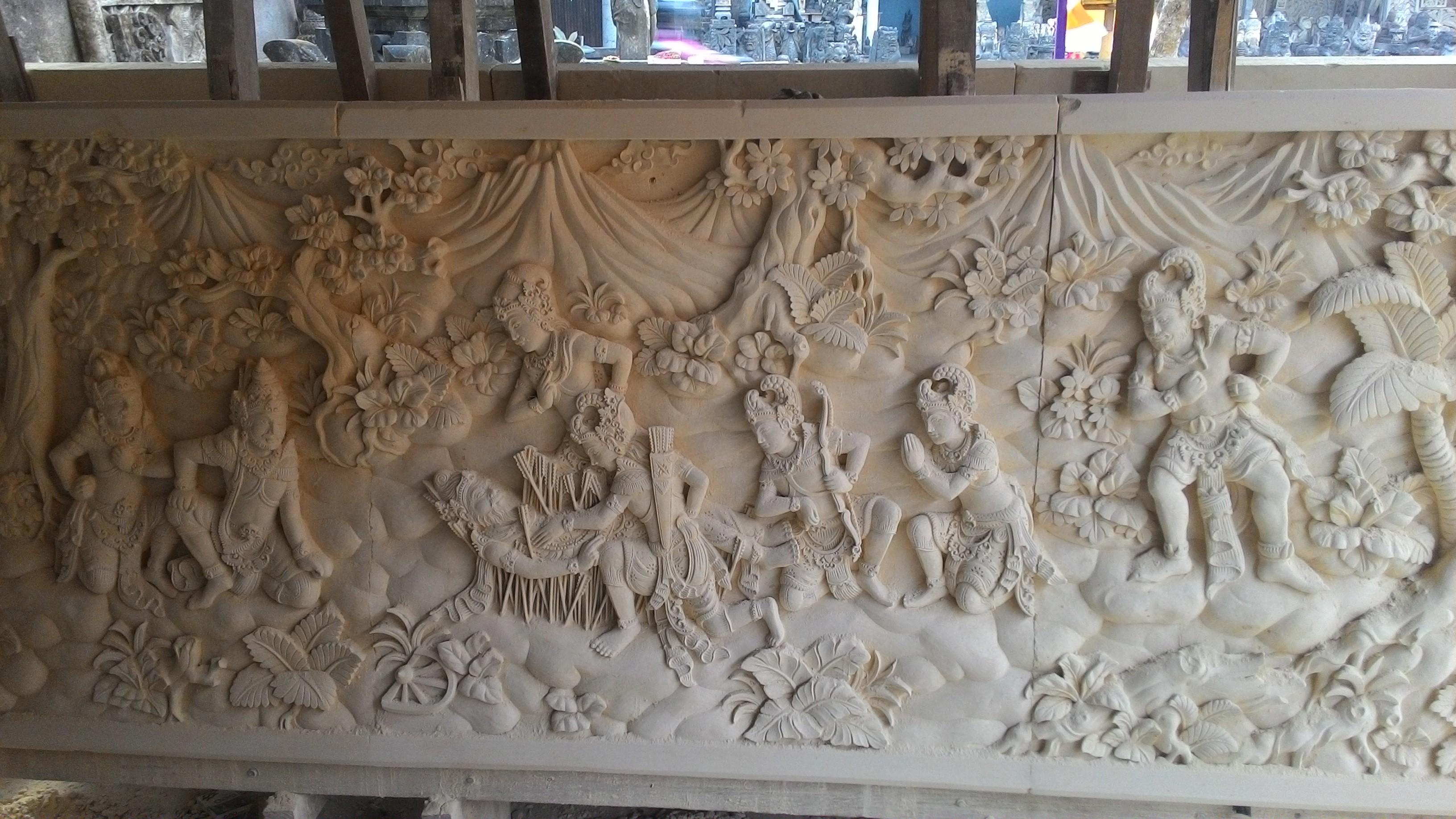 Ukiran Relief Bali
