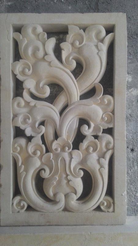 Harga releif dinding rumah motif loster.