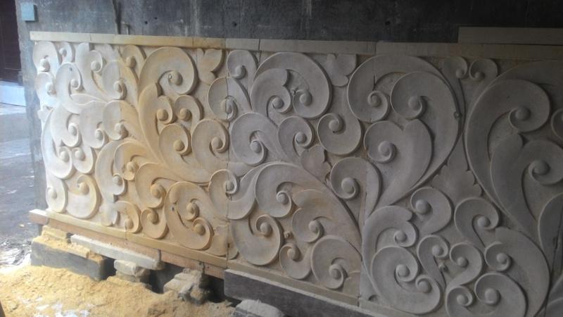 Harga releief dinding rumah motif tribal/ util utilan.