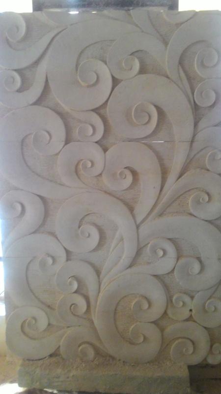 Relief Dinding Rumah minimalis