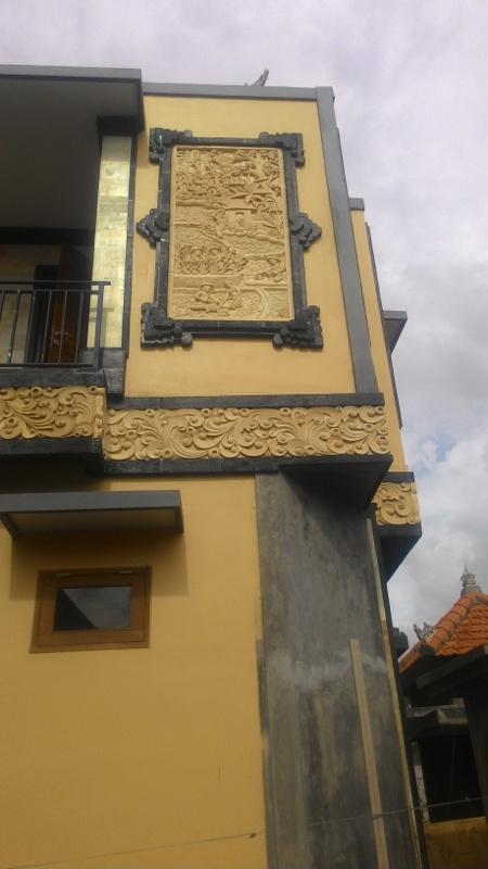 Dekorasi Dinding Rumah mewah motif util
