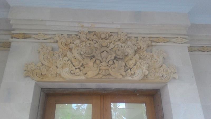 Dekorasi Dinding Rumah motif Gumendung