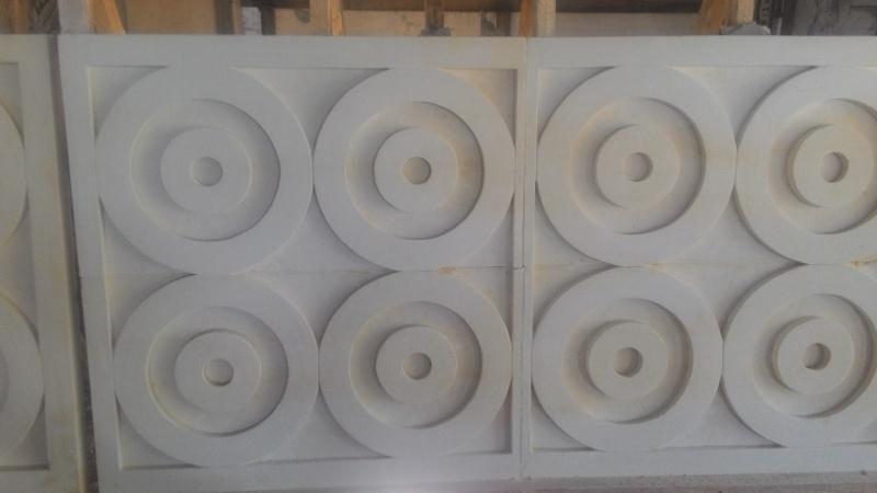 Relief Dinding Rumah motif minimalis