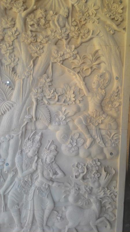 Dekorasi Rumah Mewah motif Ramayana