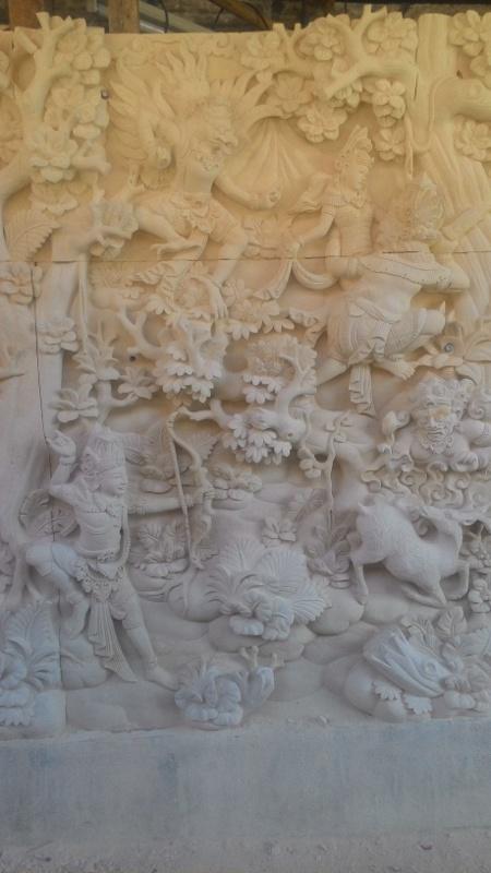 Dekorasi Rumah motif Ramayana