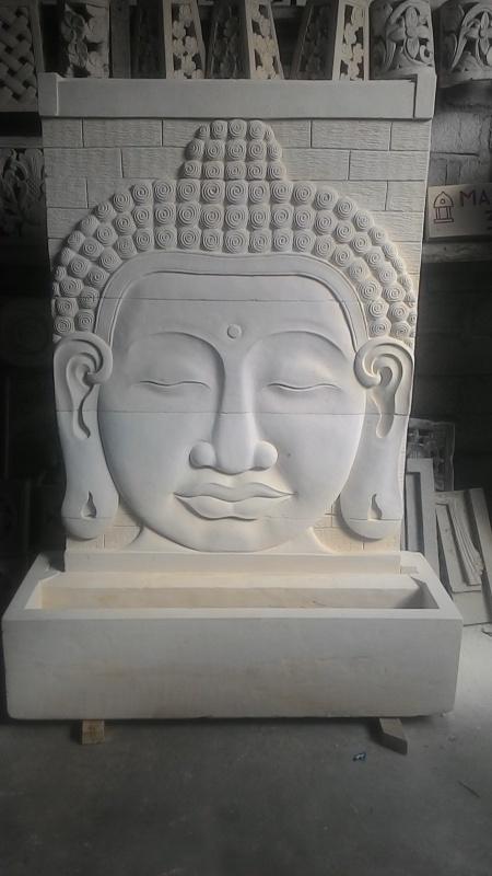 Relief Air Mancur Budha