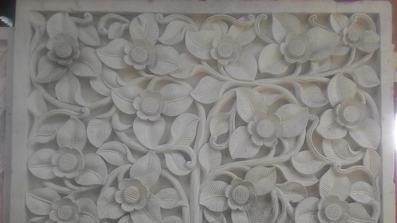 Dekorasi Relief Dinding Rumah Motif Cemul
