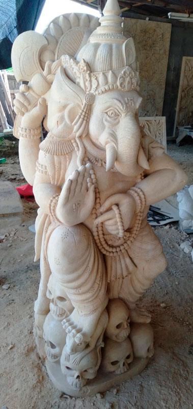 Patung Paras Bali Motif Dewa Ganesha