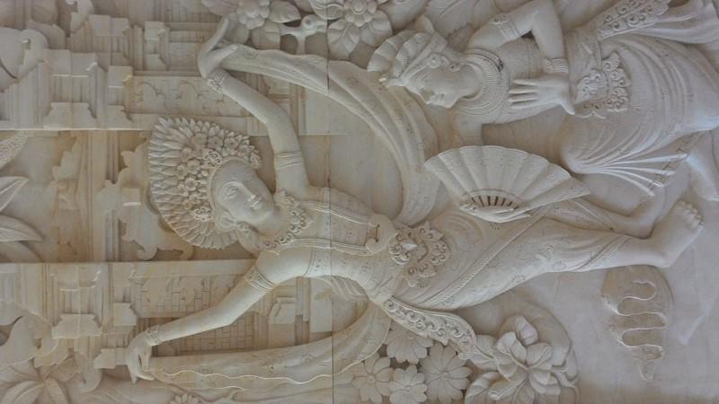 Relief tari bali