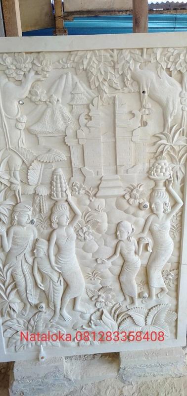 Ukiran Batu Paras Bali Motif Tradisi