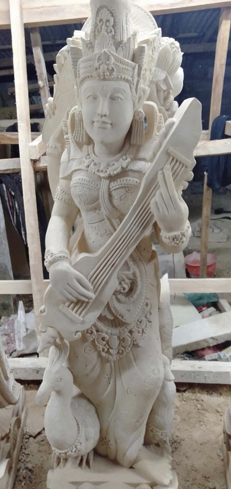 Jual Patung Dewi Saraswati Paras Jogja di Bali