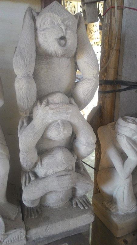 Patung monyet