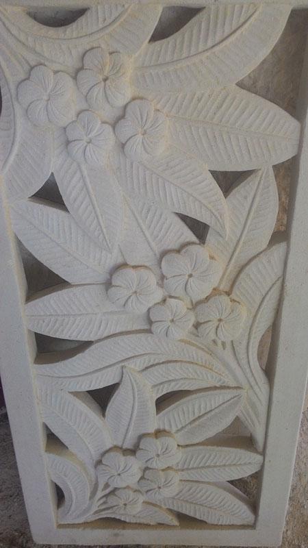 Relief bunga jepun