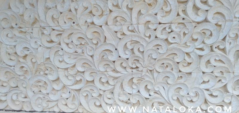 Relief Hiasan Dinding Rumah Motif Util-Utilan