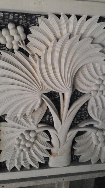 Relief kelapa sawit