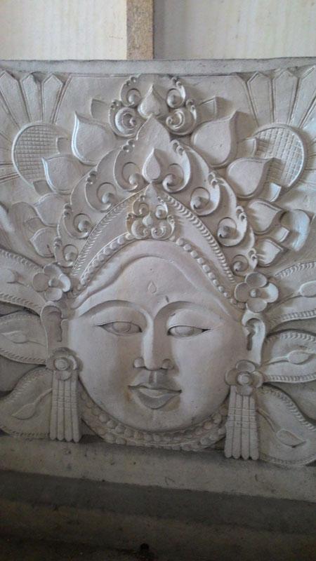 Relief wajah penari