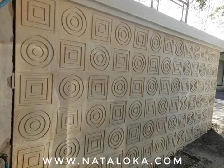 Ukiran Relief Tembok Bali Minimalis
