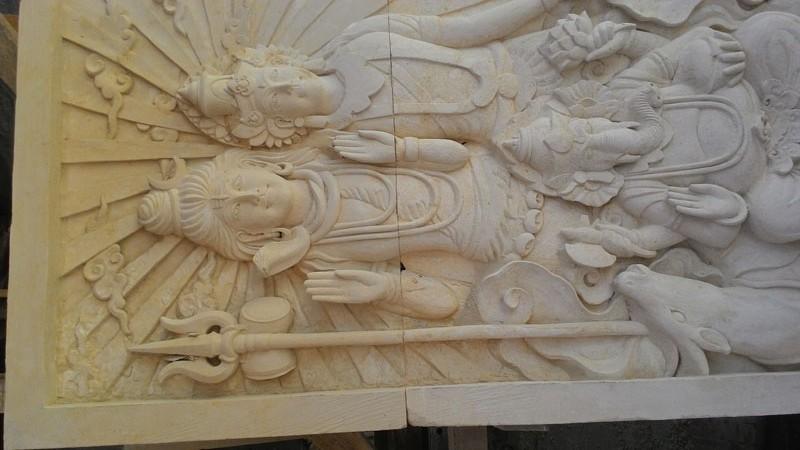 Relief dewa siva